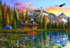 Old Log Cabin. Click to view this product