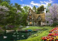 Spring Lake Cottage. Click to view this product