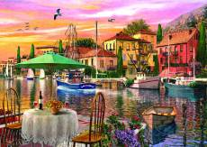 Sunset Harbour (ANA4905), a 3000 piece Anatolian jigsaw puzzle.