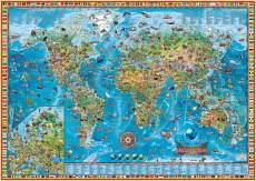 Amazing World Map. Click to view this product