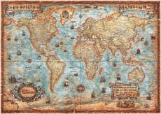 The World Map (HEY29845), a 2000 piece jigsaw puzzle by HEYE. Click to view this jigsaw puzzle.