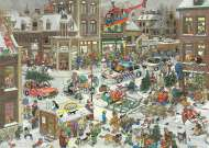 Christmas (Large Pieces) (JUM20020), a 500 piece jigsaw puzzle by JumboArtist Jan van Haasteren. Click to view this jigsaw puzzle.