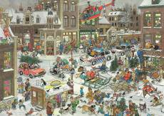 Christmas (Large Pieces) (JUM20020), a 500 piece Jumbo jigsaw puzzle.