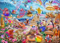 Beach Mania (Master of Mania) (HOL772100), a 1000 piece jigsaw puzzle by Holdson and artist Steve Sundram. Click to view this jigsaw puzzle.