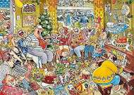 Twelve Days of Christmas  (JUM11279), a 1000 piece jigsaw puzzle by JumboArtist Graham Thompson. Click to view this jigsaw puzzle.