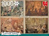 Living Room (JUM18856), a 1000 piece jigsaw puzzle by JumboArtist Anton Pieck. Click to view this jigsaw puzzle.