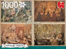 Living Room (JUM18856), a 1000 piece jigsaw puzzle by Jumbo and artist Anton Pieck. Click to view this jigsaw puzzle.