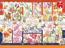Tulips from Holland (JUM18852), a 1000 piece jigsaw puzzle by Jumbo. Click to view this jigsaw puzzle.