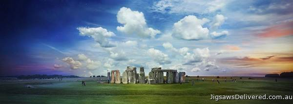Stonehenge (Day to Night) (CLE 10005), a 1000 piece jigsaw puzzle by 4D Cityscape.