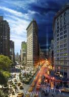 New York City (Day to Night) (CLE 10002), a 1000 piece Clementoni jigsaw puzzle.