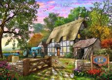 Farm Cottage (Picture Perfect) (HOL772254), a 1000 piece Holdson jigsaw puzzle.