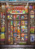 Groovy Records (Counting the Beat) (HOL772797), a 1000 piece Holdson jigsaw puzzle.