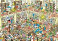 The Library (HOL772353), a 1000 piece jigsaw puzzle by HoldsonArtist Jan van Haasteren. Click to view this jigsaw puzzle.