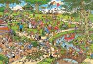 The Park (HOL772360), a 1000 piece jigsaw puzzle by HoldsonArtist Jan van Haasteren. Click to view this jigsaw puzzle.
