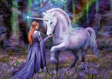 Unicorn in Bluebell .... Click to view this product