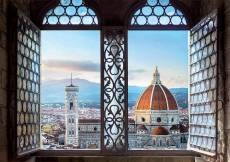 Views of Florence, Italy (EDU18460), a 1000 piece Educa jigsaw puzzle.