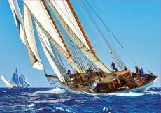 Yacht (EDU18490), a 1000 piece Educa jigsaw puzzle.