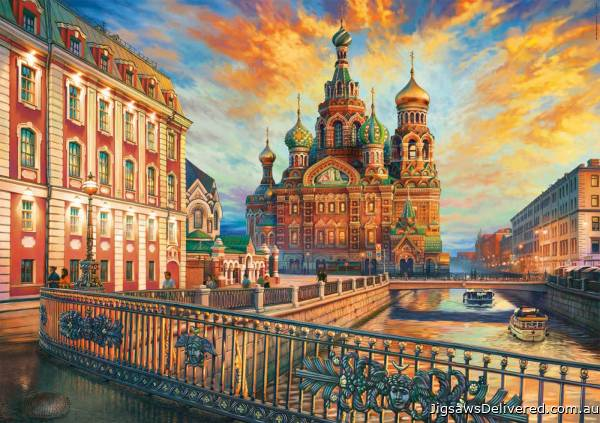 Saint Petersburg, Russia (EDU18501), a 1500 piece jigsaw puzzle by Educa.