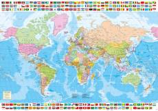 Political World Map. Click to view this product