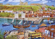 The Endeavour, Whitby (GIB062861), a 1000 piece Gibsons jigsaw puzzle.