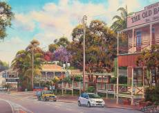 Eumundi on Sunday (BL02103-C), a 1000 piece Blue Opal jigsaw puzzle.
