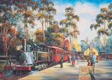 Puffing Billy Arrival. Click to view this product