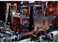 Castle of Horror (HEY26127), a 2000 piece jigsaw puzzle by HEYE and artist Jean-Jacques Loup. Click to view this jigsaw puzzle.