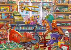Tony's Toy Shoppe (JUM11317), a 1000 piece Jumbo jigsaw puzzle.
