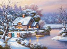 Winter Evening. Click to view this product