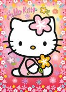 Hello Kitty (Puzzle + Puzzleball) (RB10692-9), a 100 piece Ravensburger jigsaw puzzle.