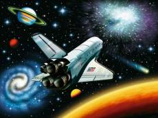Outer Space (RB10921-0), a 100 piece Ravensburger jigsaw puzzle.