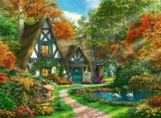Cottage in Autumn. Click to view this product
