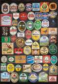 Beer Labels Collage (EDU18463), a 1500 piece jigsaw puzzle by Educa. Click to view this jigsaw puzzle.