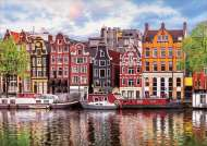 Dancing Houses, Amsterdam (EDU18458), a 1000 piece jigsaw puzzle by Educa. Click to view this jigsaw puzzle.