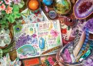 Happy Vibes (Treats n Treasures) (HOL773176), a 1000 piece jigsaw puzzle by HoldsonArtist Aimee Stewart. Click to view this jigsaw puzzle.