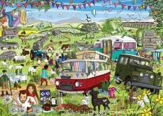 Somewhere in Yorkshire (Just Living Life) (HOL773237), a 1000 piece Holdson jigsaw puzzle.