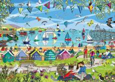 Summer Breeze (Just Living Life) (HOL773244), a 1000 piece Holdson jigsaw puzzle.