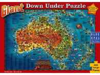 Giant Down Under Puzzle (BL01880), a 300 piece jigsaw puzzle by Blue Opal. Click to view this jigsaw puzzle.