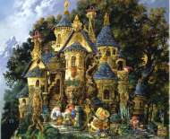 College of Magical Knowledge (SUNCN67550), a 1500 piece jigsaw puzzle by Sunsout and artist James Christensen. Click to view this jigsaw puzzle.