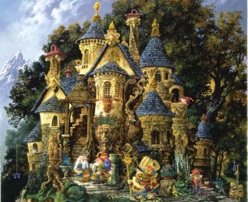 College of Magical Knowledge (SUNCN67550), a 1500 piece jigsaw puzzle by Sunsout. Click to view larger image.