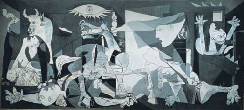 Guernica (3000pc) (EDU11502), a 3000 piece jigsaw puzzle by Educa. Click to view larger image.