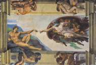 The Creation of Man (1000pc) (CLE 31402), a 1000 piece Clementoni jigsaw puzzle.
