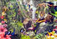 Asian Rainforest (SUN62042), a 1000 piece Sunsout jigsaw puzzle.