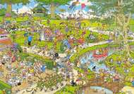The Park (1000pc) (JUM01492), a 1000 piece Jumbo jigsaw puzzle.