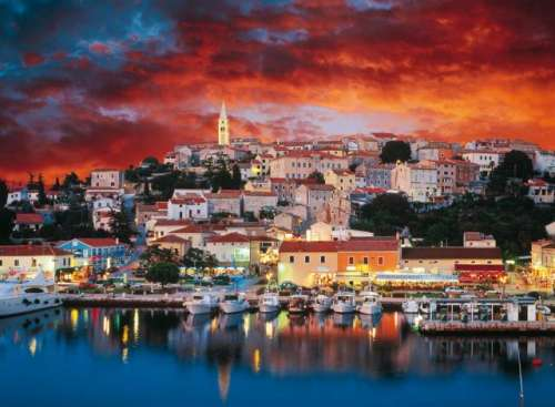 Vrsar, Istria, Croatia (TRE33018), a 3000 piece jigsaw puzzle by Trefl. Click to view larger image.