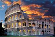 The Collosseum, Rome, Italy (TRE26068), a 1500 piece jigsaw puzzle by Trefl. Click to view this jigsaw puzzle.