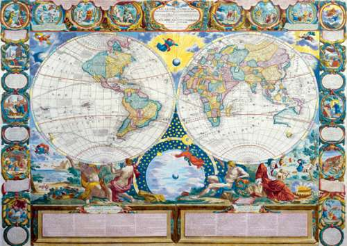 Political map of the world 1749 jigsaw by trefl tr33011 3000 pcs political map of the world 1749 tr33011 a 3000 piece jigsaw puzzle by gumiabroncs Gallery