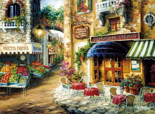 Buon Appetito (3000pc) (CLE 33530), a 3000 piece jigsaw puzzle by Clementoni. Click to view larger image.