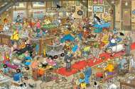 The Dog Show (1500pc) (JUM13035), a 1500 piece jigsaw puzzle by Jumbo and artist Jan van Haasteren. Click to view this jigsaw puzzle.