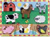 Farm ('Chunky' Wooden Puzzle) (MND3723), a 8 piece Melissa and Doug jigsaw puzzle.
